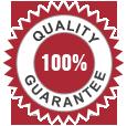 Quality Guaranteed 100%